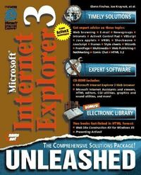 Microsoft internet explor.3 unleashed