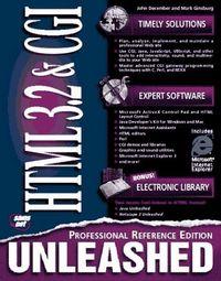 Html 3.2 cgi unleashed