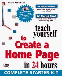 T y create a home page in
