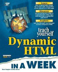 T y dynamic html in a week