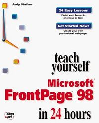 Ty microsoft frontpage 98 in 24 hours