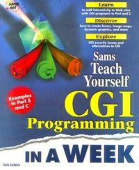 T y cgi programming in a week