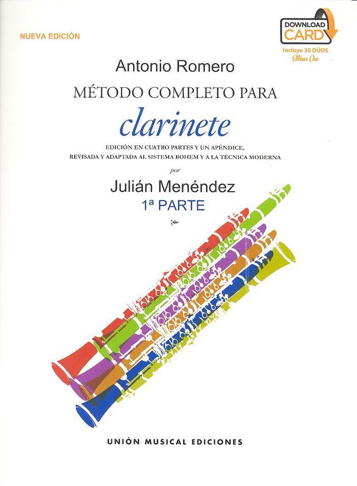 Metodo completo para clarinete