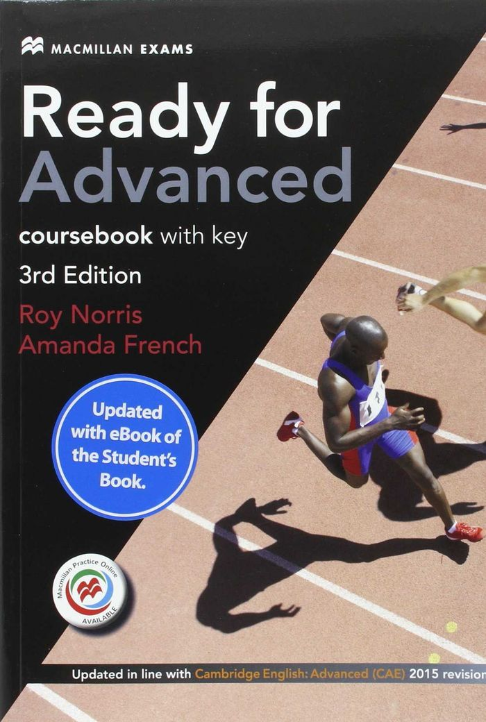 Ready for advanced(cae)sb +key(ebook)pk 16
