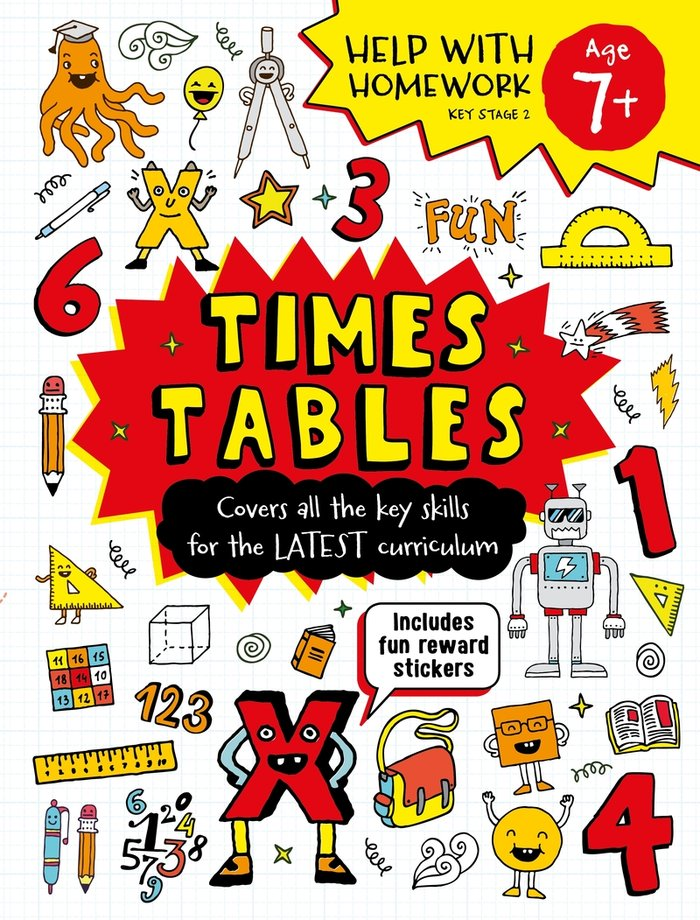Times tables age 7 ingles