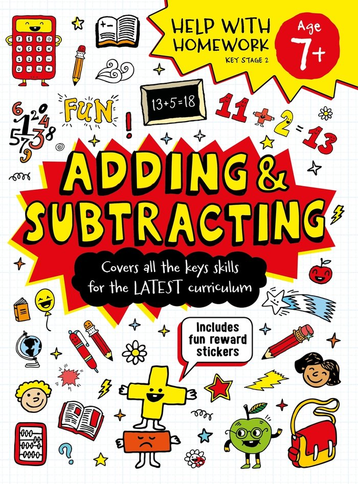 Adding & subtracting age 7 ingles