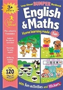 Leap ahead bumper workbook - 3 years english & maths