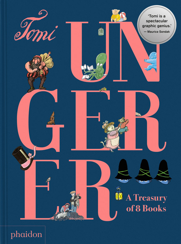 Tomi ungerer a treasure of 8 books