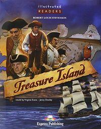 Treasure island illustrated with+cd