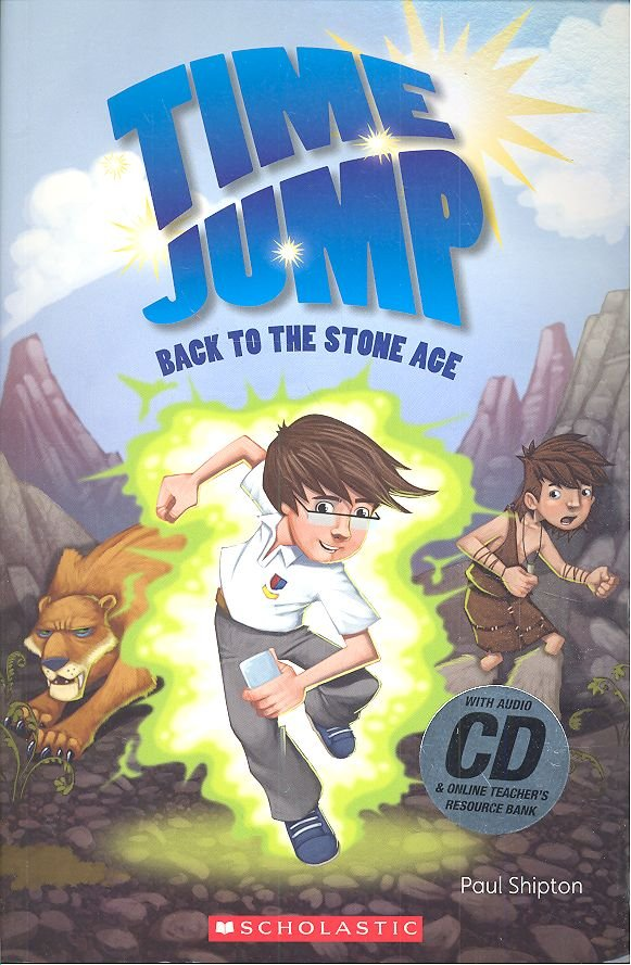 Time jumpback to the stone age level 2 book + cd