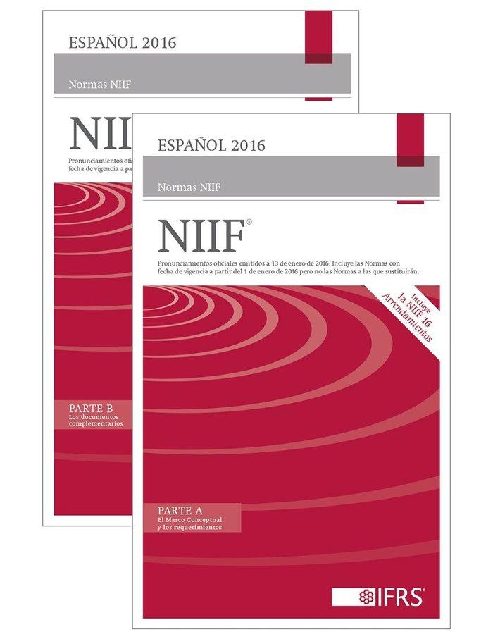 EspaÑol 2016 normas niif© (libro rojo)