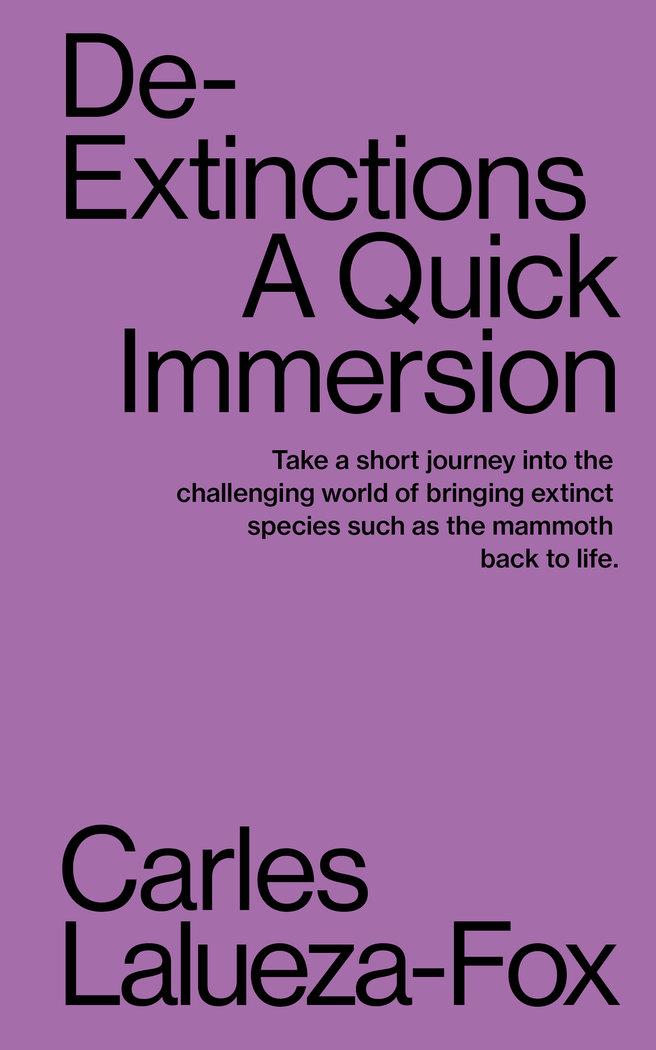 De extinctions a quick immersion