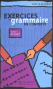 Exercices grammaire en contexte avance eleve