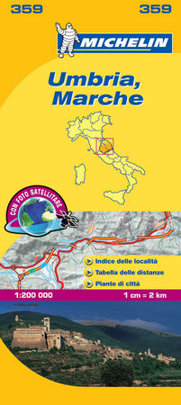 Mapa local umbria marche
