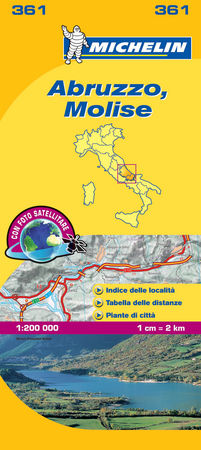 Mapa local abruzzo molise
