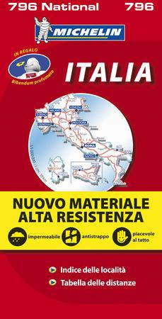 Mapa national italia alta resistencia