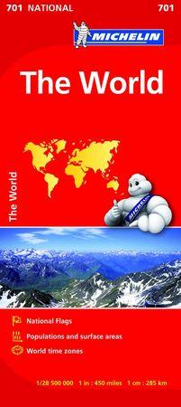 Mapa national the world