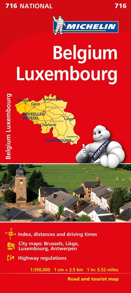 Mapa national belgica luxemburgo