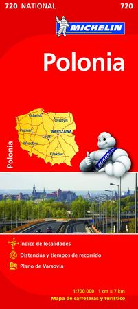 Mapa national polonia