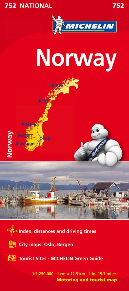 Mapa national noruega(752)2019