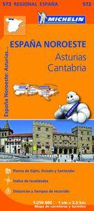 Mapa regional asturias cantabria 573 2013