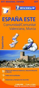 Mapa regional comunidad valenciana murcia 2013(577)