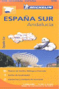 Mapa carreteras andalucia 578 regional españa