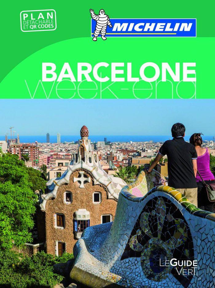 Le guide vert week-end barcelone