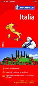 Italia 735 ed.09 mapas de carreteras mapas-carret