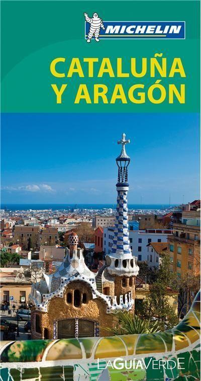 Pack guia verde cataluña y aragon con mapa de trafico