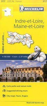 Mapa local indre et loire maine et loire francia 317 2016