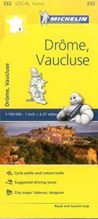 Mapa local drome vaucluse francia 332