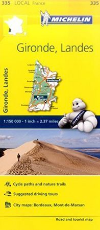 Mapa local gironde landes francia 335 2016