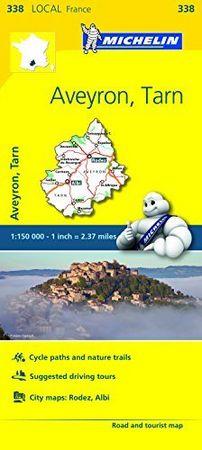 Mapa local aveyron tarn francia 338