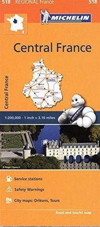 Mapa regional 518 central france 2016