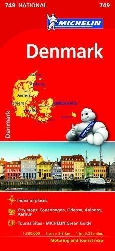 Mapa national dinamarca