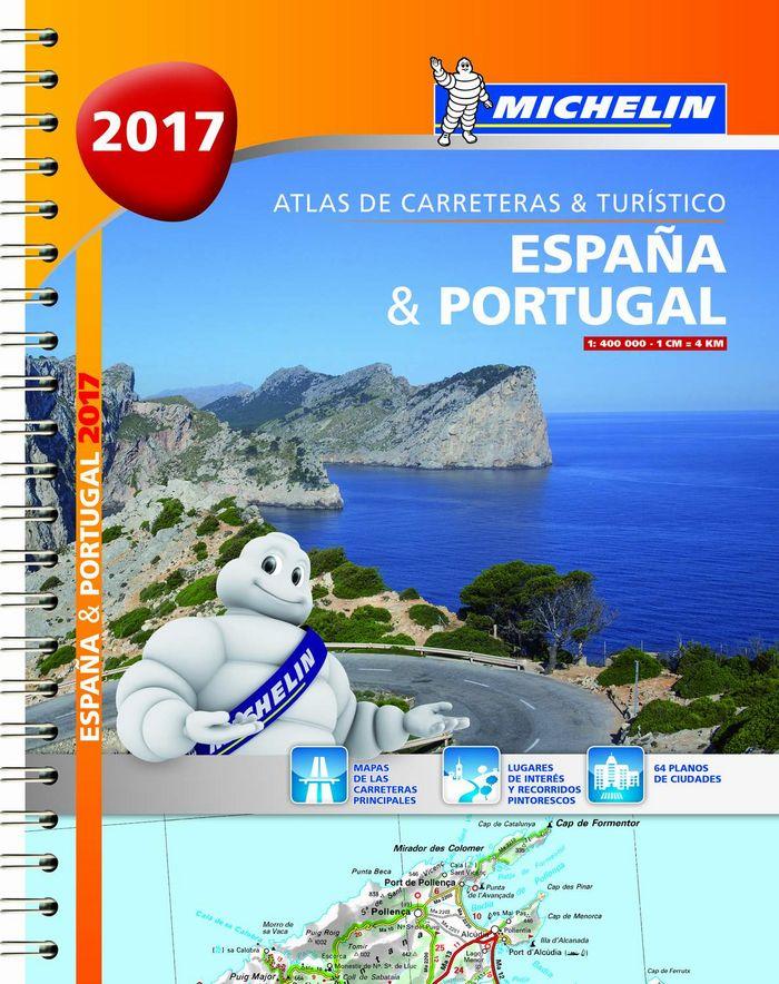 Atlas de carreteras y turistico españa & portugal (formato a