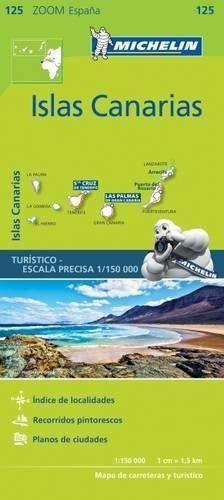 Mapa zoom islas canarias