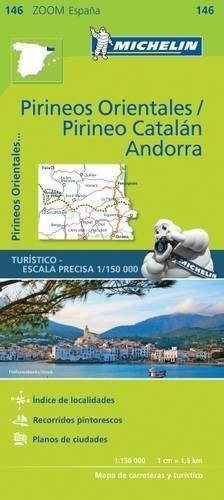 Mapa zoom pirineos orientales / pirineo catalan, andorra