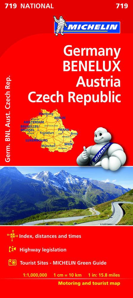 Mapa national alemania benelux austria rep. checa(719)2019
