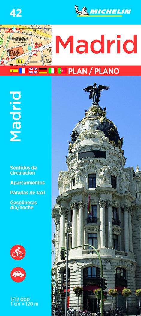 Madrid plano