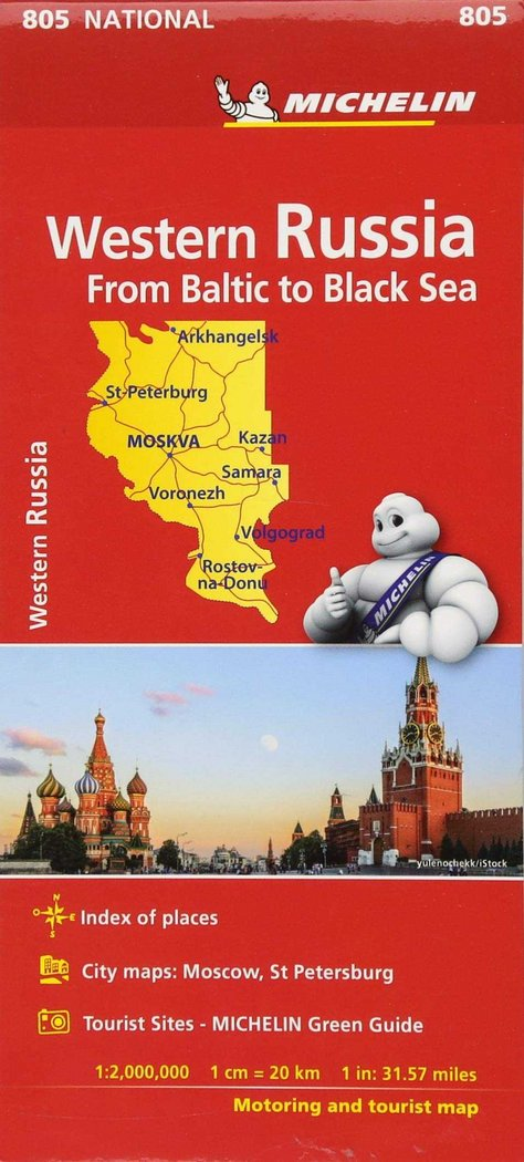 Mapa national rusia 2018