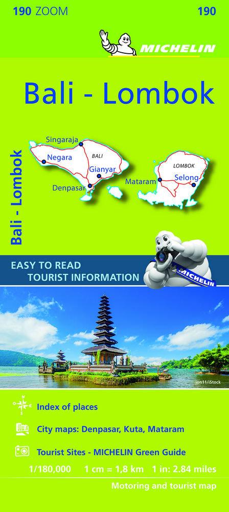 Mapa zoom bali-lombok