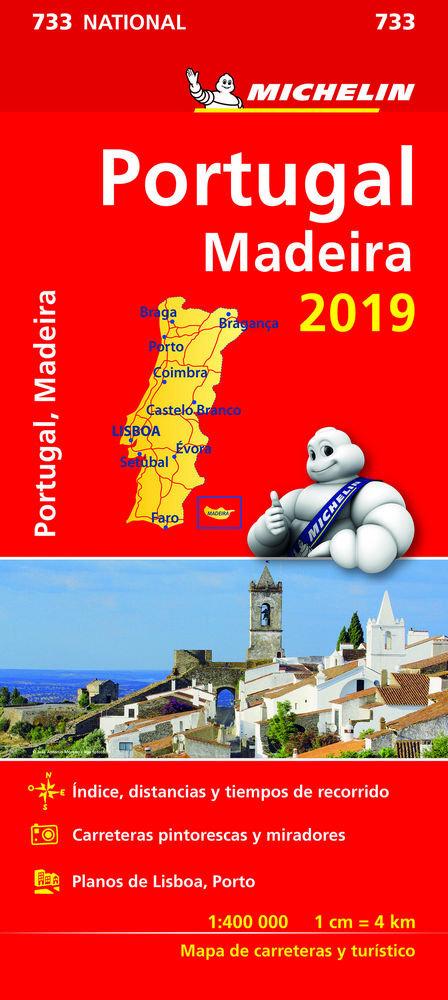 Mapa national portugal(733)2019
