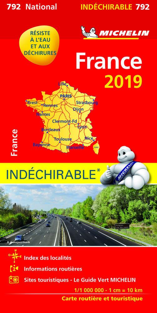 Mapa national francia alta resistencia(792)2019