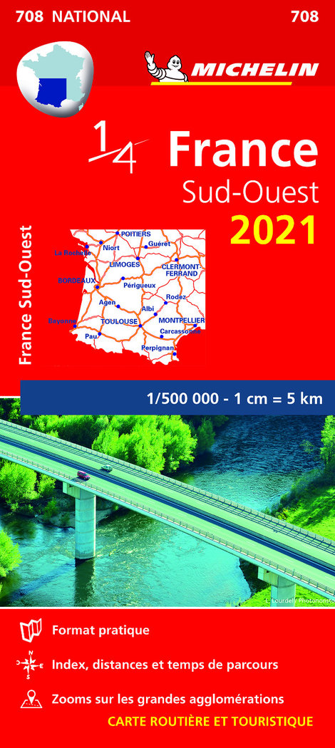 Mapa national francia sud ouest 2021