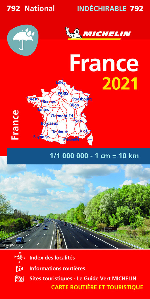 Mapa national francia alta resist 2021