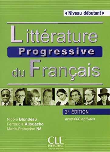 Litterature progressive du français - niveau debutant - liv