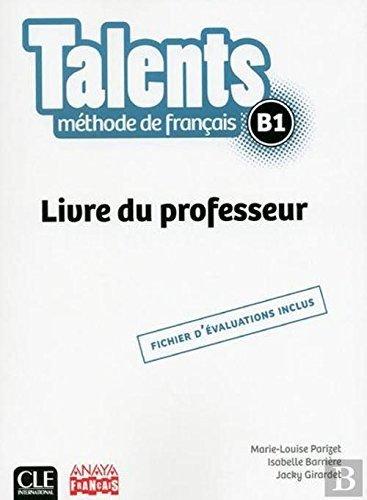 Talents livre de professeur b1
