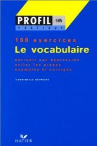 Vocabulaire,le
